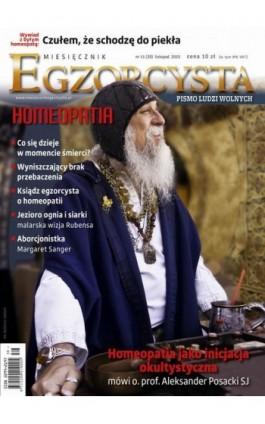 Miesięcznik Egzorcysta. Listopad 2015 - Praca zbiorowa - Ebook