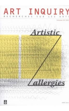 Art Inquiry.  Recherches sur les arts t. XII (XXI) - Praca zbiorowa - Ebook