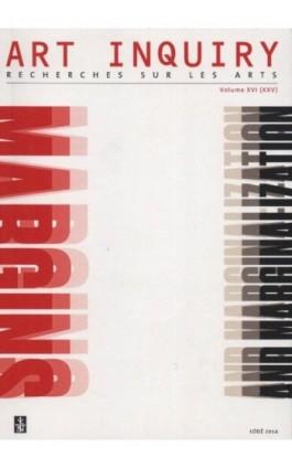 Art Inquiry. Recherches sur les arts t. XVI (XXV) - Praca zbiorowa - Ebook