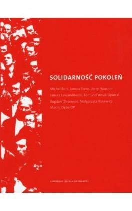 Solidarność pokoleń - Ebook - 978-83-62853-30-4
