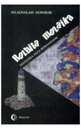 Rozbita mozaika Ekonomia poza równaniami - Władysław Dowbor - Ebook - 978-83-8002-682-7