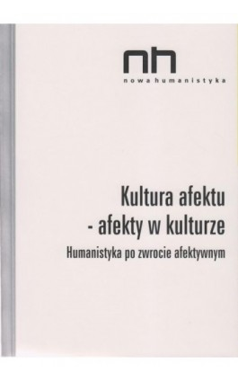 Kultura afektu - Ebook - 978-83-64703-75-1