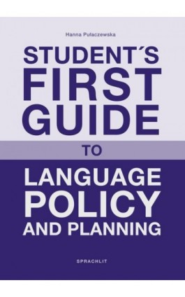 Student´s First Guide to Language Policy and Planning - Hanna Pulaczewska - Ebook - 978-3-9816-9604-2