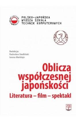 Oblicza współczesnej japońskości - Ebook - 978-83-63103-42-2