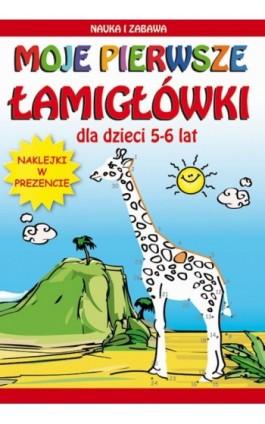 Moje pierwsze łamigłówki - Beata Guzowska - Ebook - 978-83-7898-422-1