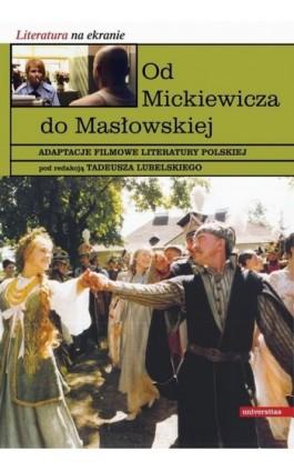 Od Mickiewicza do Masłowskiej - Ebook - 978-83-242-2479-1