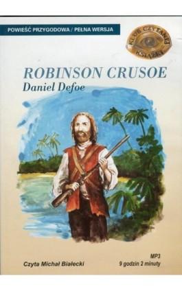 Przypadki Robinsona Crusoe - Daniel Defoe - Audiobook - 978-83-7699-904-3
