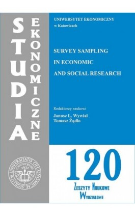 Survey Sampling in Economic and Social Research. SE 120 - Ebook