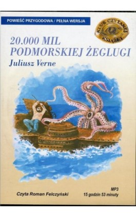 20.000 mil podmorskiej żeglugi - Juliusz Verne - Audiobook - 978-83-7699-869-5