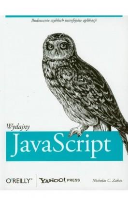 Wydajny JavaScript - Nicholas C. Zakas - Ebook - 978-83-7541-215-4