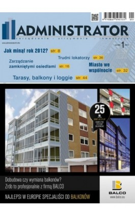 Administrator 1/2013 - Ebook