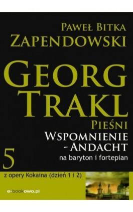 Wspomnienie - Andacht - Paweł Bitka Zapendowski - Ebook - 978-83-62480-44-9