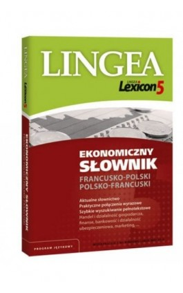 Ekonomiczny słownik francusko-polski polsko-francuski (do pobrania) - Lingea - Ebook