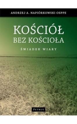 Kościół bez kościoła - Andrzej Napiórkowski - Ebook - 978-83-7720-127-5