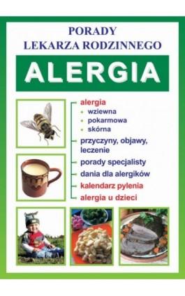 Alergia - Praca zbiorowa - Ebook - 978-83-7774-432-1