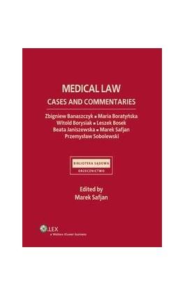 Medical law. Cases and commentaries - Beata Janiszewska - Ebook - 978-83-264-4658-0
