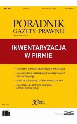 Inwentaryzacja w firmie - Infor Pl - Ebook - 978-83-65947-20-8