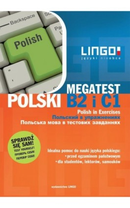 Polski B2 i C1 Megatest - Stanisław Mędak - Ebook - 978-83-7892-200-1