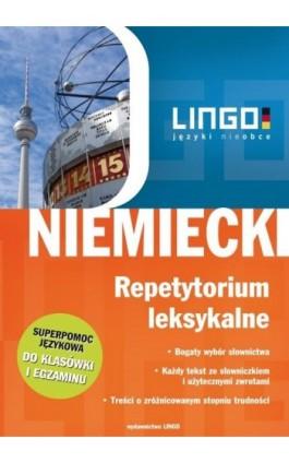 Niemiecki. Repetytorium leksykalne - Iwona Kienzler - Ebook - 978-83-7892-060-1