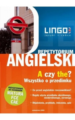 Angielski. A czy the? Wszystko o przedimku - Anna Treger - Ebook - 978-83-7892-041-0