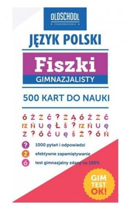 Język polski Fiszki gimnazjalisty - Paweł Pokora - Ebook - 978-83-7892-244-5