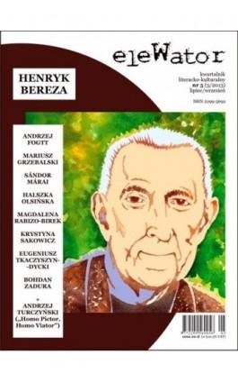 eleWator 5 (3/2013) - Henryk Bereza - Praca zbiorowa - Ebook