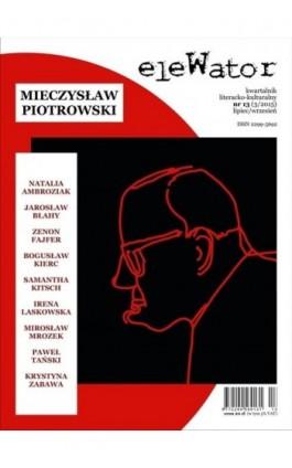 eleWator 13 (3/2015) - Mieczysław Piotrowski - Praca zbiorowa - Ebook