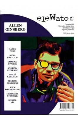 eleWator 11 (1/2015) - Allen Ginsberg - Praca zbiorowa - Ebook