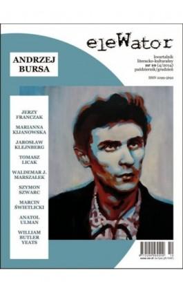 eleWator 10 (4/2014) - Andrzej Bursa - Praca zbiorowa - Ebook