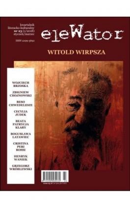 eleWator 23 (1/2018) - Witold Wirpsza - Praca zbiorowa - Ebook