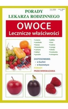 Owoce. Lecznicze właściwości - Anna Kubanowska - Ebook - 978-83-7898-439-9