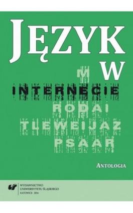 Język w internecie - Ebook - 978-83-8012-698-5