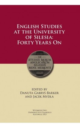 English Studies at the University of Silesia - Ebook - 978-83-8012-189-8