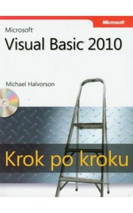 Microsoft Visual Basic 2010 Krok po kroku - Michael Halvorson - Ebook - 978-83-7541-281-9