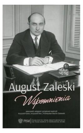 Wspomnienia - August Zaleski - Ebook - 978-83-64895-95-1