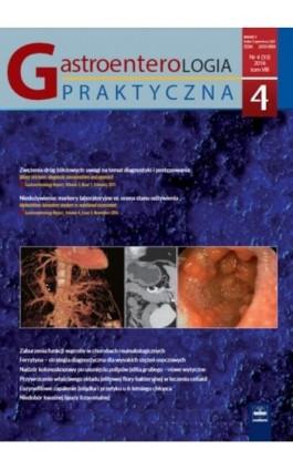 Gastroenterologia Praktyczna 4/2016 - Ebook