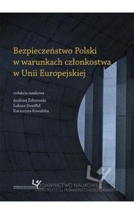 Bezpieczeństwo Polski w warunkach członkostwa w Unii Europejskiej - Ebook - 978-83-8084-140-6