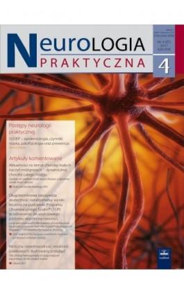 Neurologia Praktyczna 4/2017 - Ebook