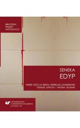 """Lucius Annaeus Seneca: """"""""Edyp. Oedipus"""""""" - Ebook - 978-83-226-3406-6"""