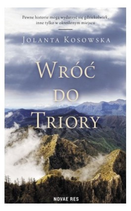 Wróć do Triory - Ebook - 978-83-8147-058-2