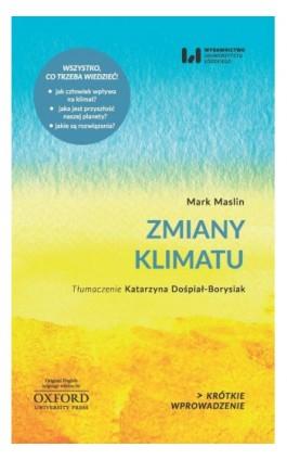 Zmiany klimatu - Mark Maslin - Ebook - 978-83-8088-770-1