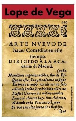 Nowa sztuka pisania komedii w dzisiejszych czasach - Lope de Vega - Ebook - 978-83-7453-365-2