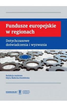 Fundusze europejskie w regionach. Dotychczasowe doświadczenia i wyzwania - Ebook - 978-83-66199-93-4