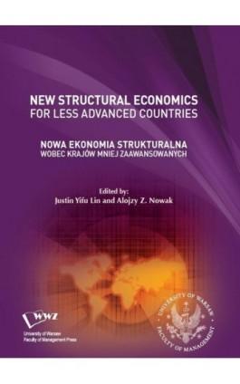Nowa Ekonomia Strukturalna wobec krajów mniej zaawansowanych - Ebook - 978-83-65402-50-9