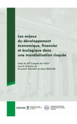 Les enjeux du développment économique, financier et écologique dans une mondialisation risquée - Ebook - 978-83-7417-982-9