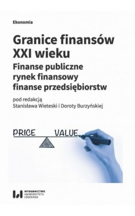 Granice finansów XXI wieku - Ebook - 978-83-8088-792-3