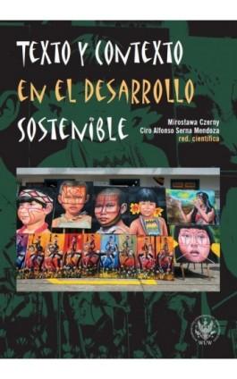 Texto y contexto en el desarrollo sostenible - Ebook - 978-83-235-3423-5