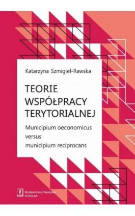 Teorie współpracy terytorialnej. Municipium oeconomicus versus municipium reciprocans - Katarzyna Szmigiel-Rawska - Ebook - 978-83-7383-910-6