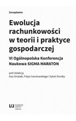 Ewolucja rachunkowości w teorii i praktyce gospodarczej - Ebook - 978-83-8088-120-4