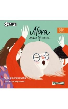 Bulbes i Hania Papierek. Afera nie z tej ziemi - Anna Onichimowska - Audiobook - 978-83-8146-307-2
